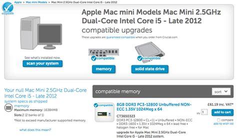 best ram for mac mini 2014 mac mini v 2012 mac mini comparison review macworld uk