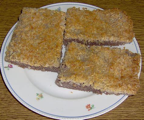 Kokosraspel Kuchen Rezept Mit Bild Hans60