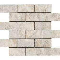 lowes mosaic tile backsplash shop style selections floriana glazed porcelain