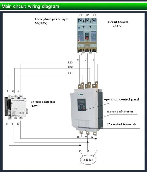 soft start 3 phase motor 3 phase soft start wiring diagram wiring diagram with