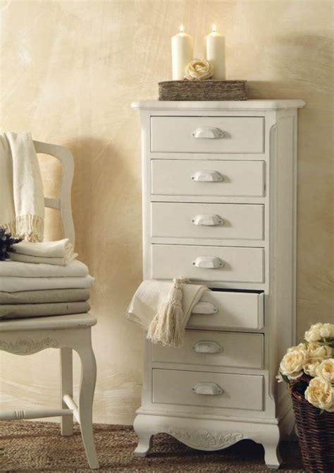 settimino provenzale bianco mobili shabby chic