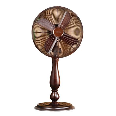 deco 12 in sutter table fan dbf0349 the home depot