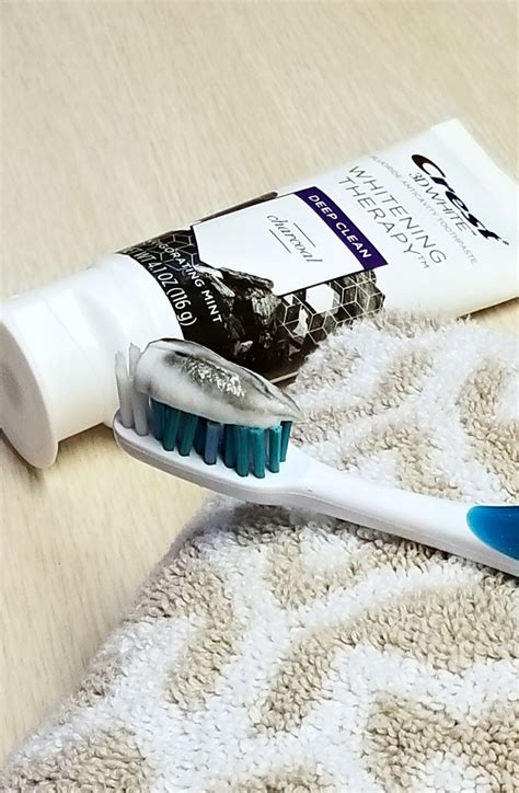 curious  brushing  charcoal toothpaste   mom