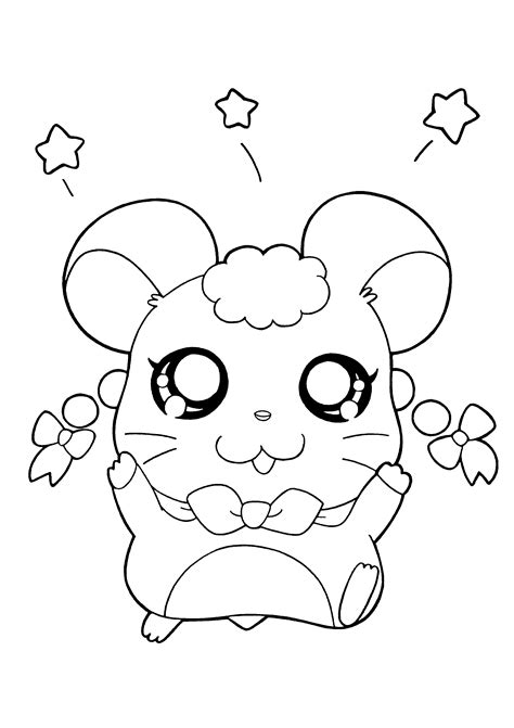 cute hamster coloring pages printable free coloring pages of kawaii puppy coloring page hamster