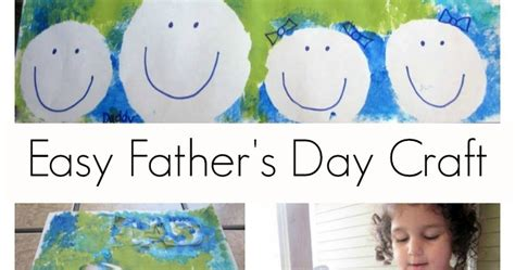 easy fathers day crafts for preschool crafts for easy s day painting craft