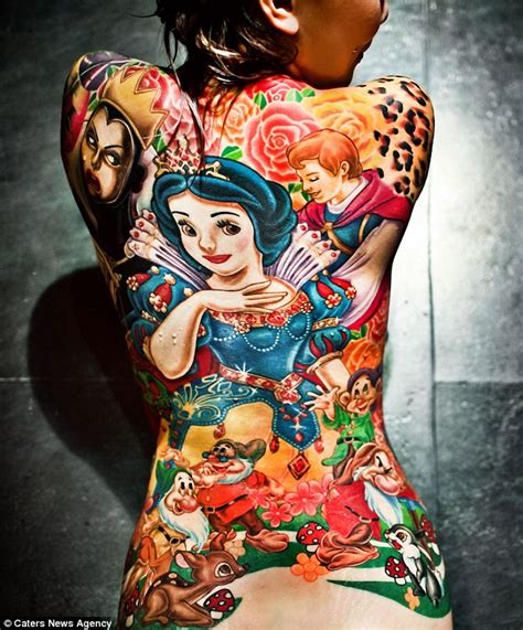 queen tattoo taiwan a dopey move snow white and the seven dwarfs fan gets