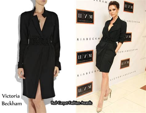 In Beckhams Closet Marc Carpet Fashion Awards by In Beckham S Closet Beckham Trench