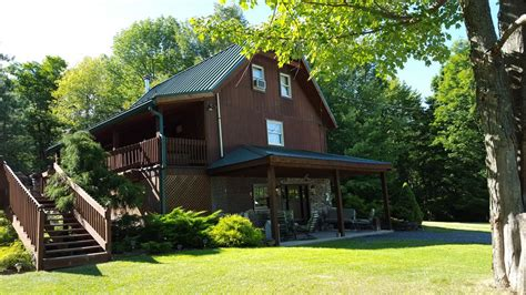 Luxury Secluded Cottages by Secluded Luxury Cabin In The Endless Mountains Vrbo
