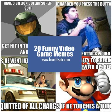 Meme The Game - 20 funny video game memes