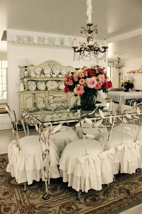 slipcovered chairs shabby chic 17 best ideas about shabby chic chairs on pinterest