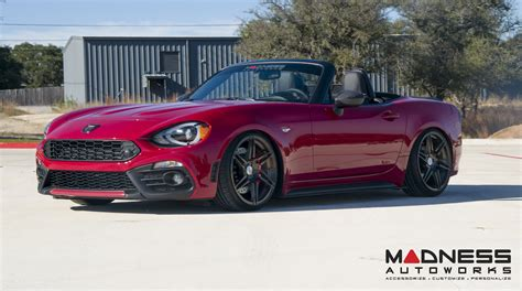 madness autoworks 200hp abarth 124 spider