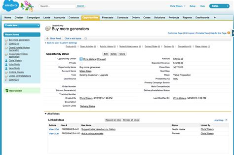 Can You Search For On Salesforce Using The Aha Salesforce Integration Aha Support