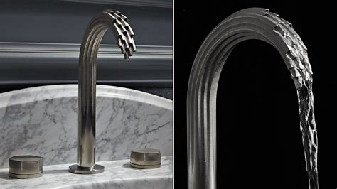 Powder Bathroom Ideas These Impossibly Twisted 3d Printed Taps Somehow Actually