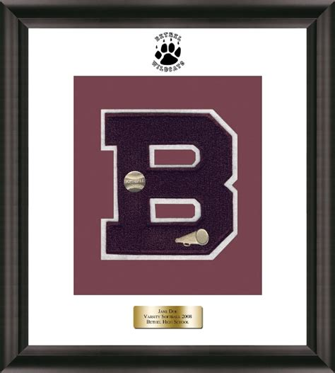 Varsity Letter College Application Specialty Framing Church Hill Classics