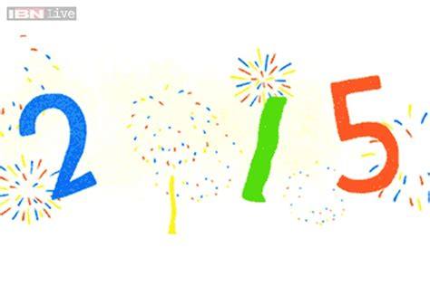 google images happy new year new year 2015 google wishes happy new year with an