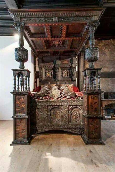 gothic bed gothic bedroom gothic furniture antique