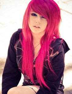 short hair in the pink with rocks bad girl long punk hair on pinterest punk hair color short red