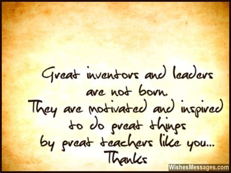 thank you letter for parents quotes great inventors and leaders are not born they are