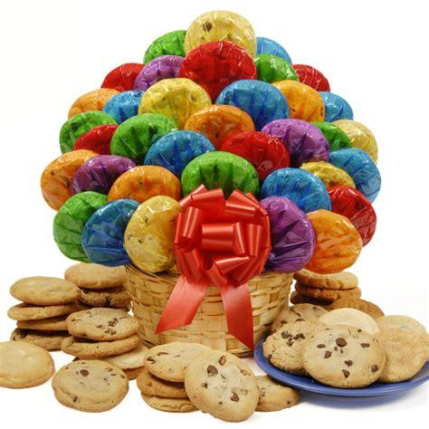 cookie arrangement baskets delivery cookie bouquets