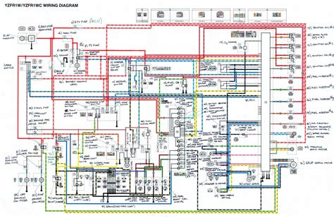 complete electrical wiring diagram of yamaha yzf r1 circuit wiring diagrams