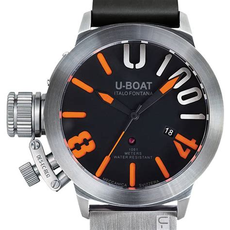 U Boat Turbilon Orange montre u boat pas cher