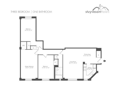 stuyvesant town floor plans working class homes accio nox
