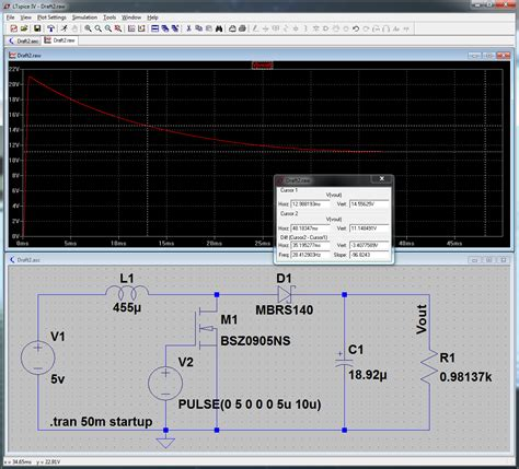 ltspice inductor simulation how do i simulate a dc dc boost converter in ltspice electrical engineering stack exchange
