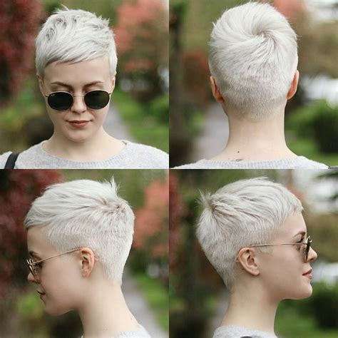 very short hair cuts front and back 30 cute pixie cuts short hairstyles for oval faces page