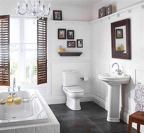 Small White Bathroom Ideas by Small White Colored Bathrooms To Get A Functions