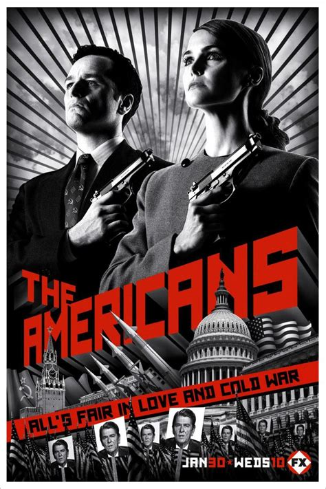 Tv Show by The Americans Tv Series 2013 Filmaffinity