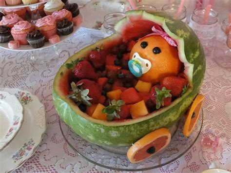 Baby Shower Melon Carriage by Watermelon Baby Carriage Baby Shower