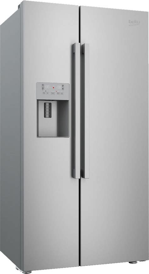 Non Plumbed Fridge by Beko American Style Fridge Freezer Non Plumbed Water