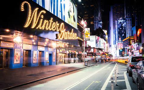 Garden Of Broadway Broadway New York Wallpaper 1206579
