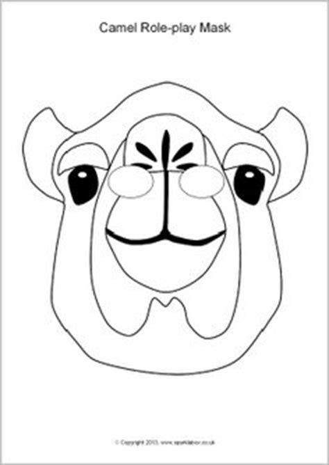 printable nativity animal masks camel role play masks sb10141 sparklebox projects to