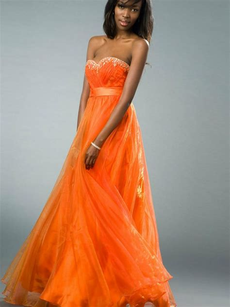 brautkleider orange orange wedding dresses