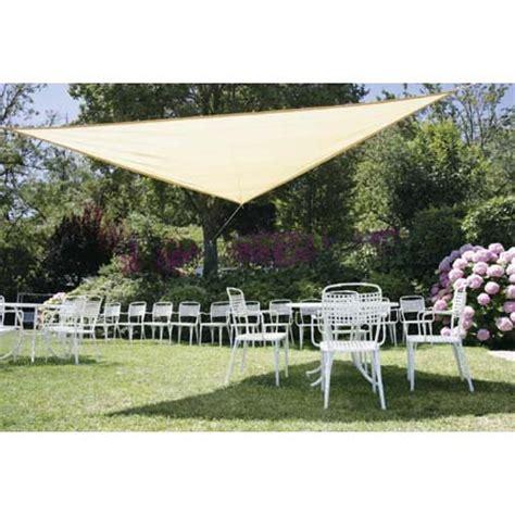 teli ombreggianti giardino kit teli ombreggianti triangolari beige kit teli