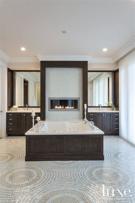 bathrooms with fireplaces 134 best images about bathroom fireplaces on pinterest