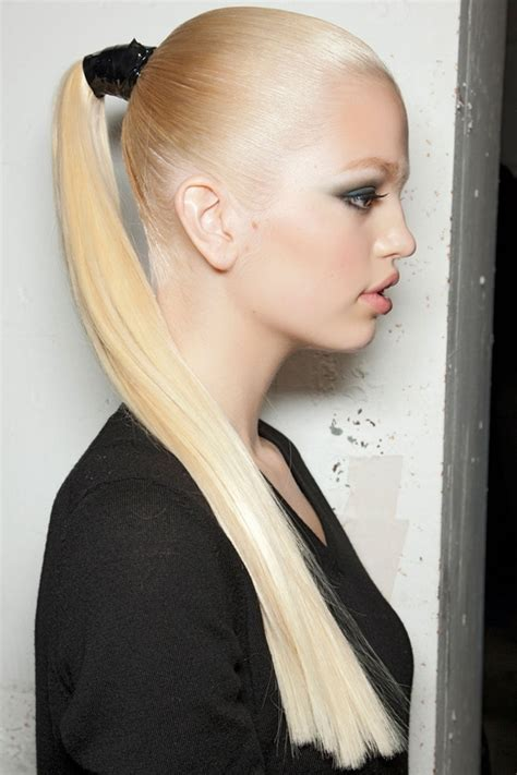 millions of women wear ponytails long and edgy 11 ways to wear a ponytail so you can look