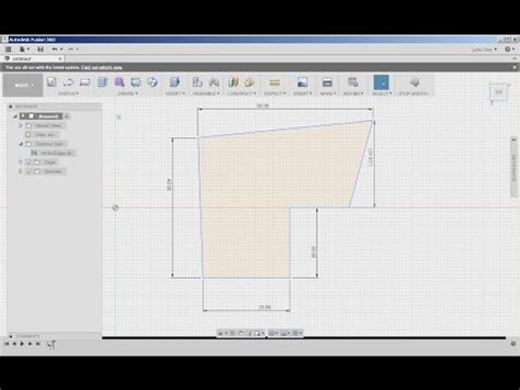 fusion  sketch dimensions drafting modeling