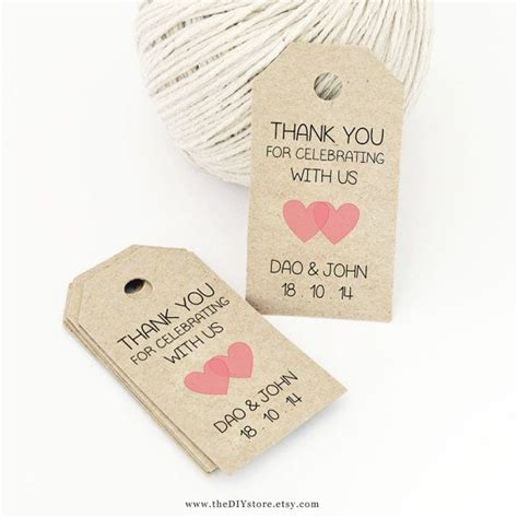 wedding favor labels template favor tag template printable small design