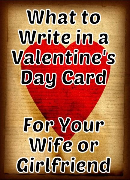 what can i write in a valentines card s day messages for your or