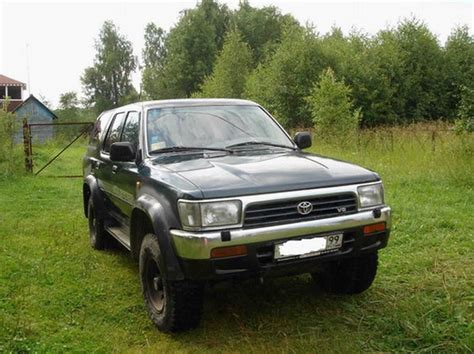 1994 Toyota 4 Runner 1994 Toyota 4runner Pictures 3000cc Gasoline Manual