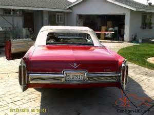 1966 Cadillac Coupe For Sale 1966 Cadillac Coupe Convertible For Sale