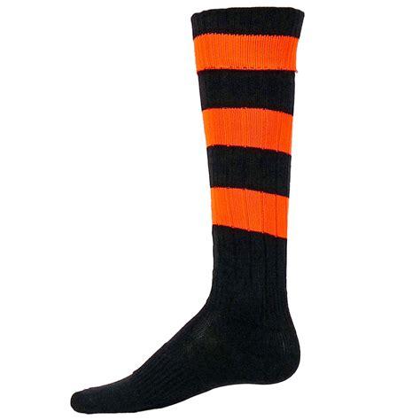 sports socks neon big stripe athletic socks