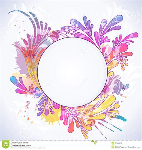 colorful flower design colorful background border design flowers joy studio