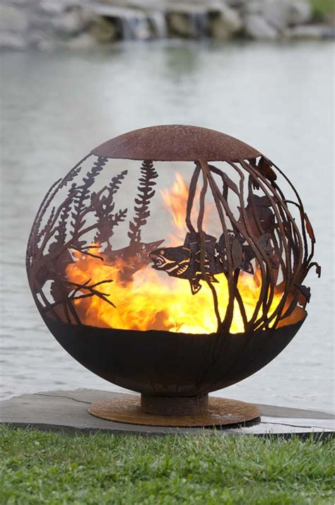 Red Lake Fire Pit Sphere The Fire Pit Gallery The Fire Pit Sphere