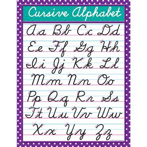 cursive letters chart cursive alphabet images search 1174