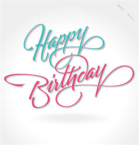 Design Happy Birthday Photo | happy birthday notes design vector free vector graphic
