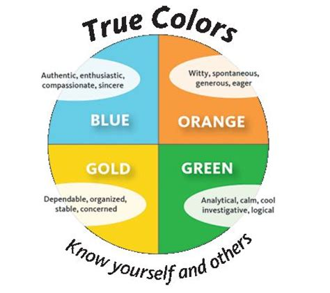 best 25 true colors personality ideas on true