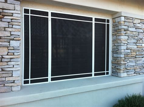 house window screens sunscreens and window coverings